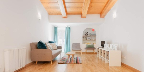 Holiday Apartment, Girona, Cort Reial, Lounge