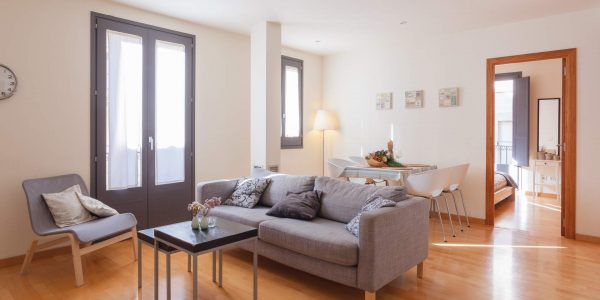 Holiday Apartment, Ramblas, Girona, Lounge