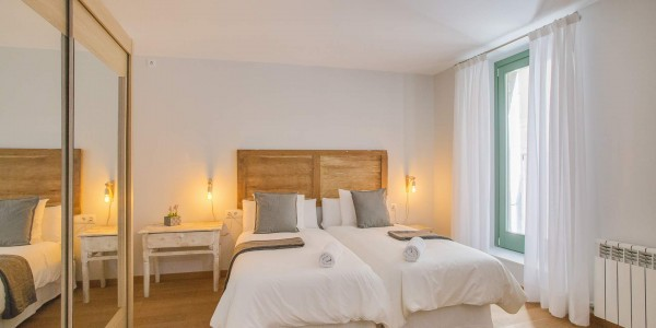 Holiday Apartment, Girona, Forca Studio, Bedroom