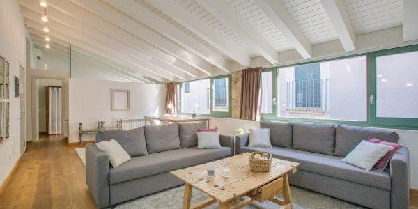 Holiday Rental Apartment, Girona, Lounge