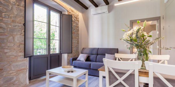 Holiday Apartment, Girona, Bonaventura 3, Lounge